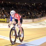 Berlin Six Days Korina Huizar Victory Lap Track Cycling